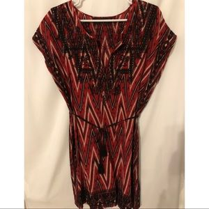 Zara Ethnic dress draw string waist